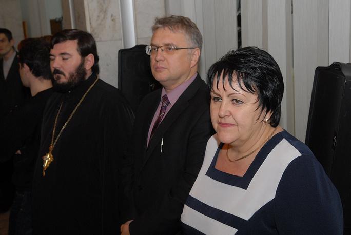 ВРИО замгубернатора Магаданской области Татьяна Исаева и заммэра Магадана Юрий Казетов