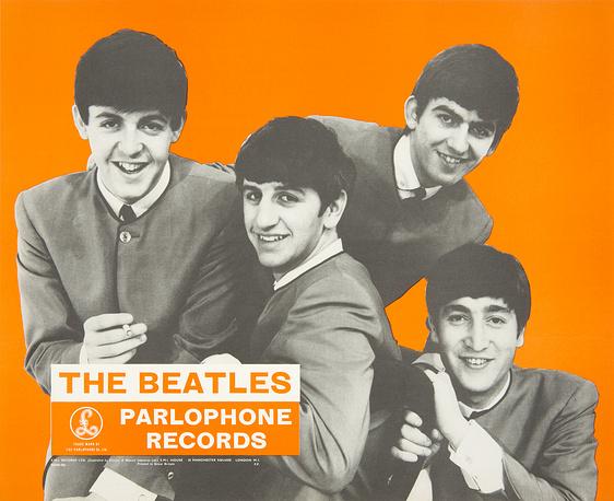 Постер Beatles, 1964