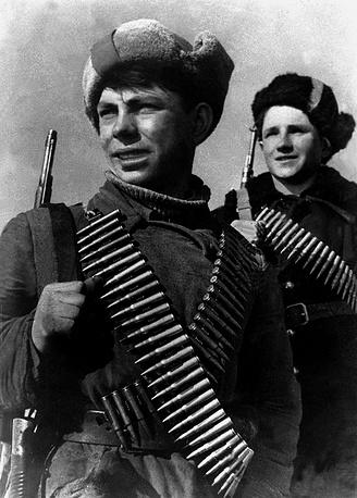 Молодые партизаны.1943 г.