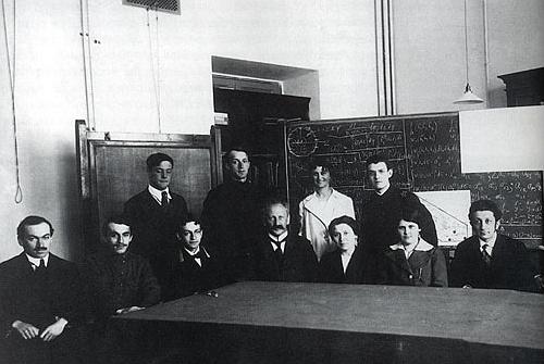 Семинар А.Ф.Иоффе в Политехническом институте.