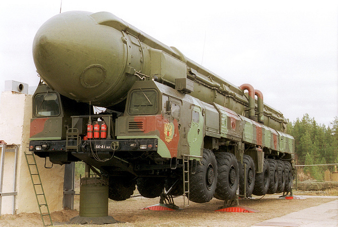 """""""Тополь"""" /РС-12М/. 2000 год"""