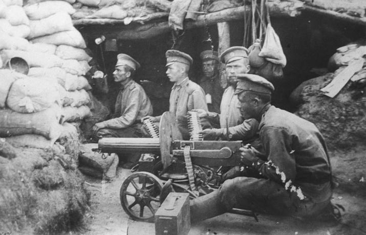 Первая Мировая война. На позициях. 1914 год