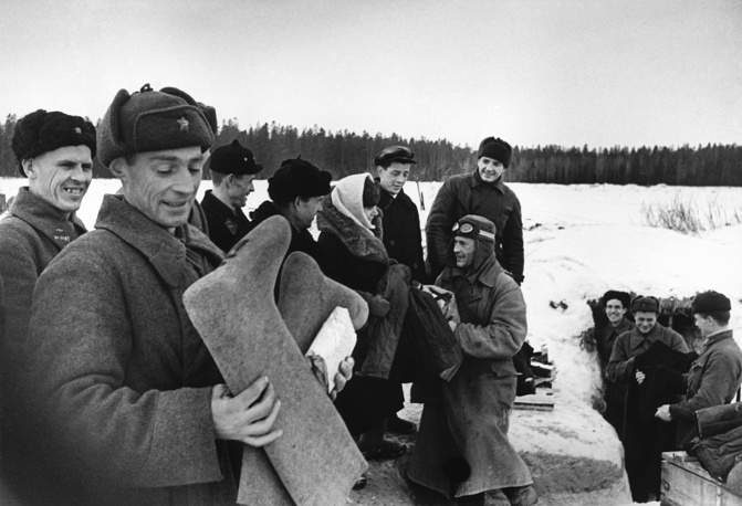 Помощь фронту. 1941 г.