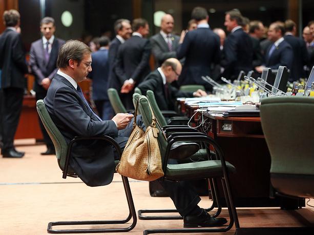 Премьер-министр Португалии Педру Пассуш Коэлью