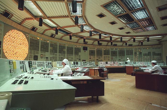Ленинградская АЭС. 1997 г.