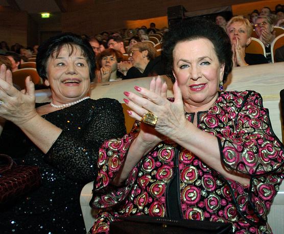 Оперные певицы Ирина Богачева и Галина Вишневская, 2006 г.