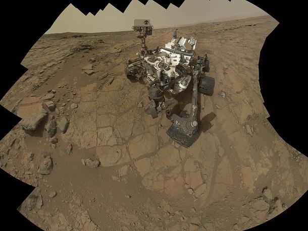 Марсоход Curiosity обнаружил на Марсе доказательства существования пресноводного озера