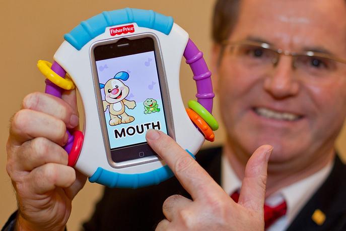 Детская игрушка с iPhone