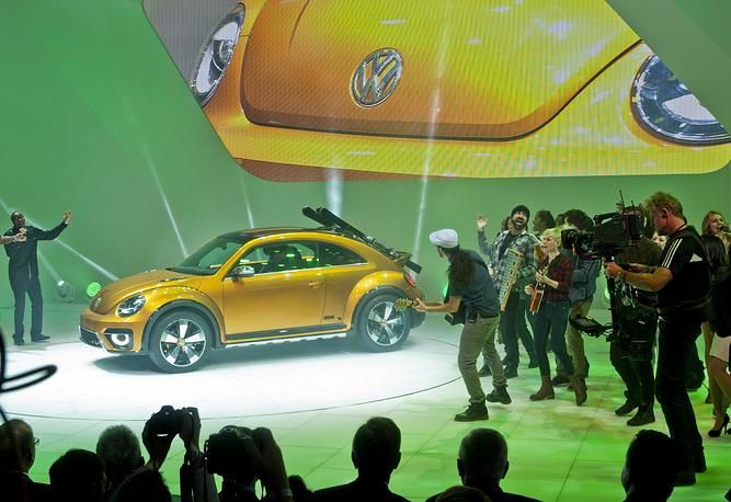 Внедорожная версия VW Beetle Dune