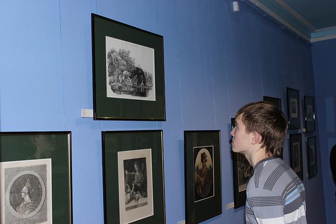 """На открытии """"Музея гравюры и рисунка"""""""