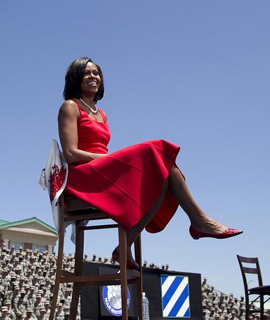 В 2010 году Мишель Обама заняла первое место в рейтинге самых влиятельных женщин мира по версии журнала Forbes.