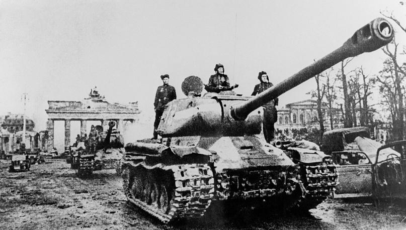 ИС-2. Берлин. 1945 год