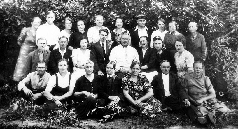 Коллектив Лензоосада. 1945 г.