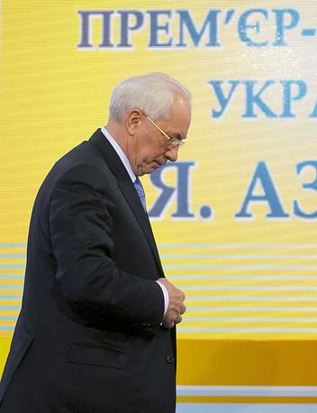 С 3 по 13 декабря 2012 года - и.о. премьер-министра Украины. С 13 декабря 2012 года - вновь премьер-министр Украины