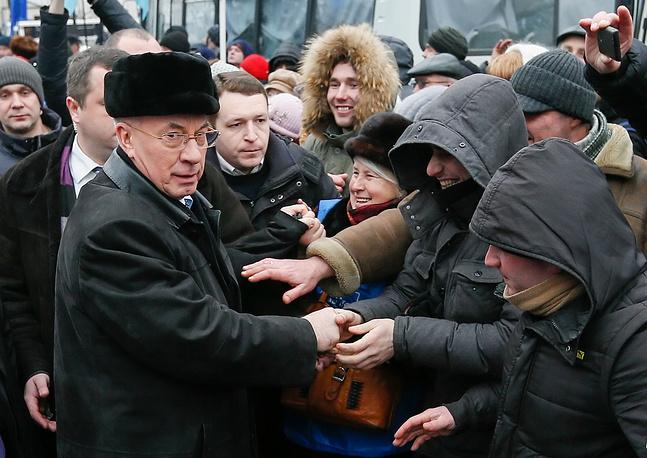 С 24 апреля 2010 г. Азаров является председателем Партии регионов Украины