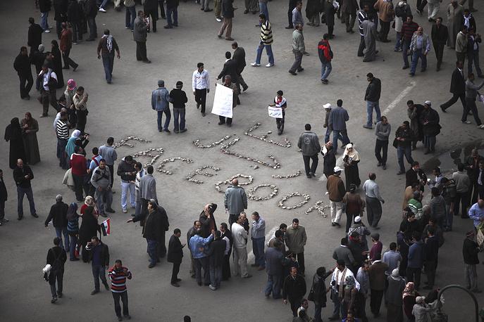 Социальная сеть сыграла важную роль в египетской революции 2011 года