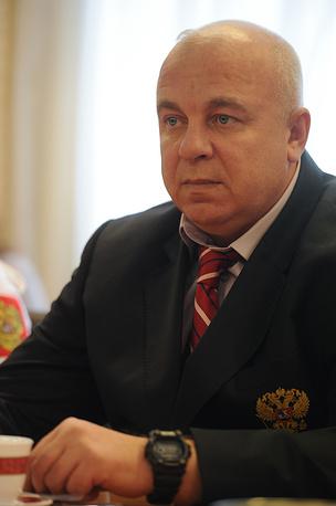 Заслуженный тренер России Валерий Огородников