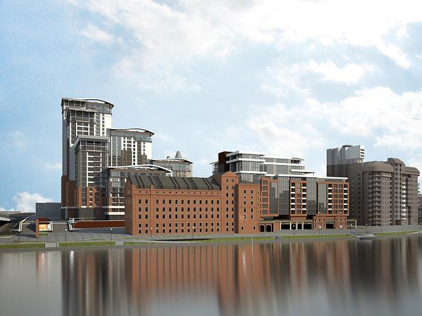 Уже в 2021 году так будет выглядеть Симановская мельница в обрамлении нового жилого квартала