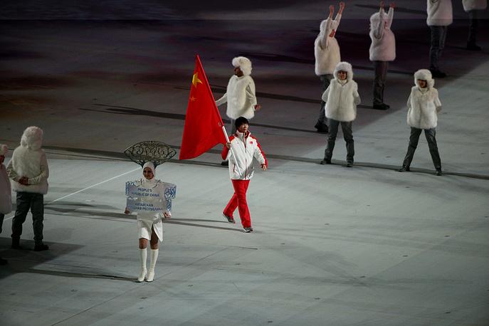 Олимпийская делегация сборной Китая