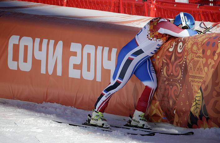 Французский горнолыжник Гильермо Файе