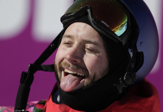 Сноубордист Билли Морган, Великобритания