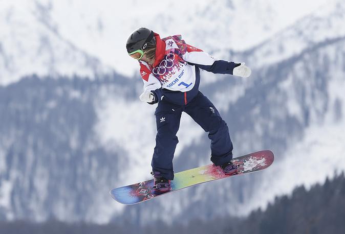 Британская сноубордистка Дженни Джонс