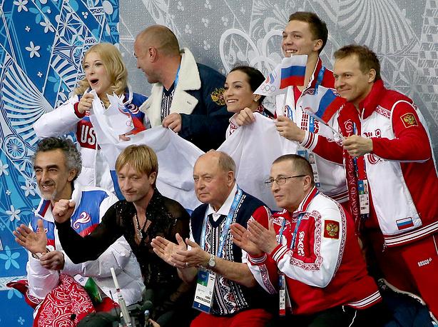 Российская сборная по фигурному катанию