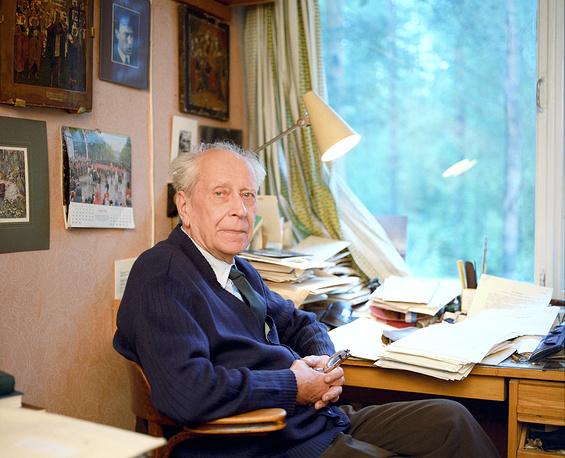 Академик Лихачев Д.С.,1987 г.