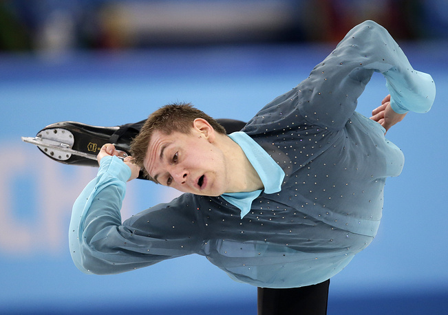 Немецкий фигурист Петер Либерс (86.04)