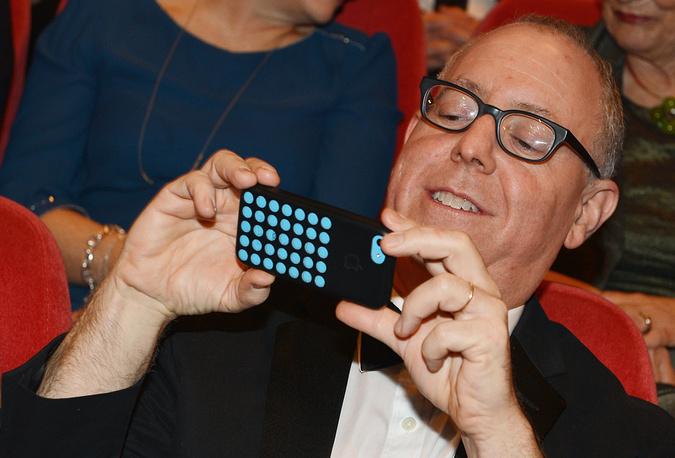 Председатель жюри американский продюсер Джеймс Шеймус