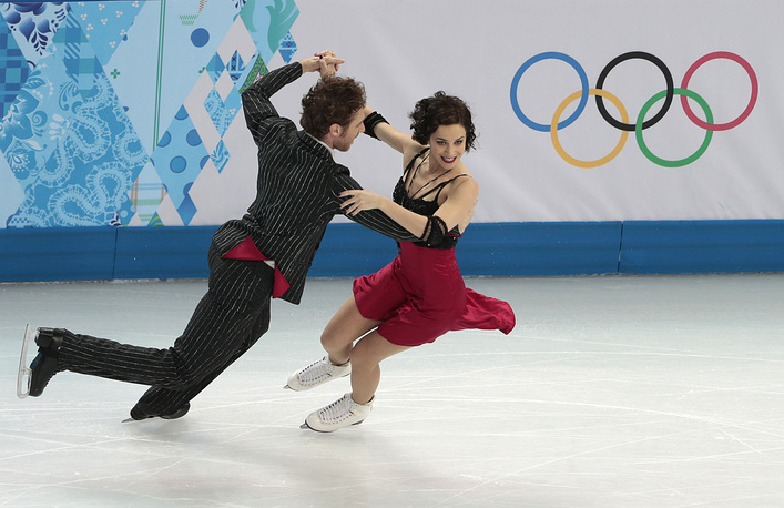 Французский дуэт Натали Пешала и Фабиан Бурза (72.78)