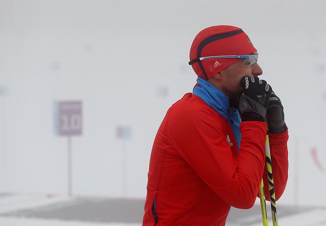 Российский спортсмен Евгений Гараничев