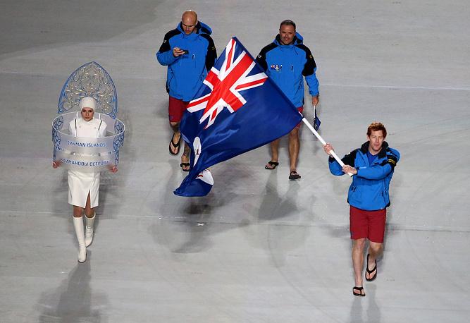 Единственный спортсмен Доу Трэверс во второй раз представит Каймановы острова на зимних Олимпийских играх в Сочи