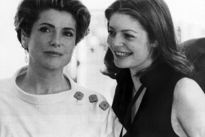 Катрин Денев с дочерью Кьярой Мастрояни, 1998 год
