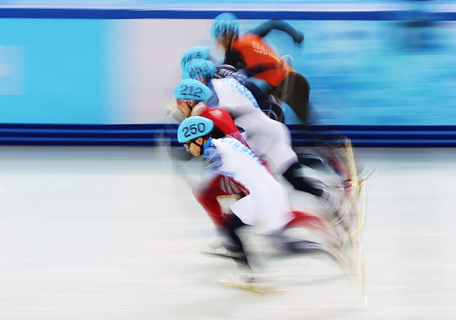 15 февраля россиянин завоевал золото сочинской Олимпиады на дистанции 1000 м