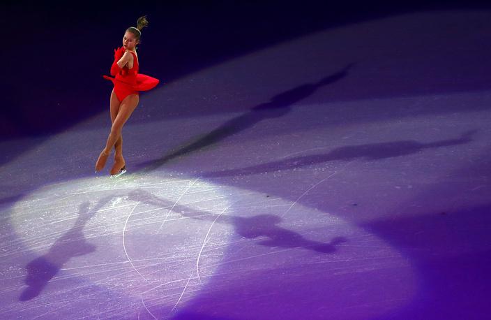 Выступление Юлии Липницкой