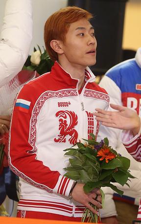 Трехкратный олимпийский чемпион и бронзовый призер олимпийских игр в шорт-треке Виктор Ан
