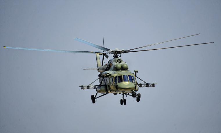 Транспортный вертолет Ми-8АМТШ