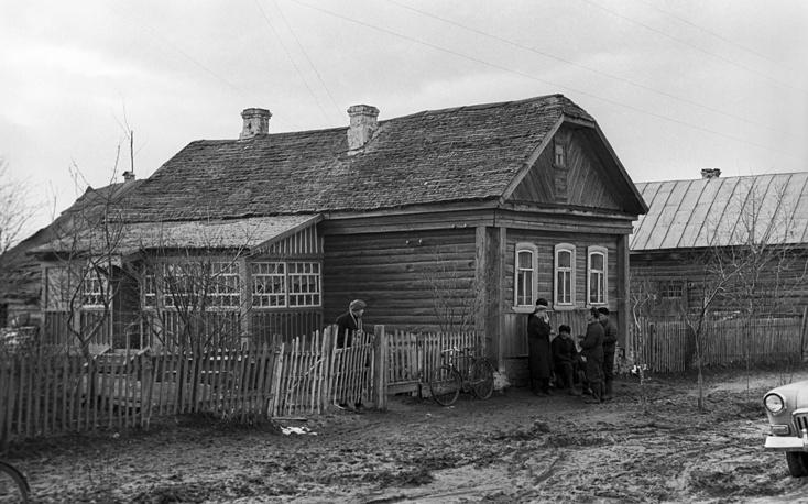 Смоленская область. Дом, в котором родился Юрий Гагарин