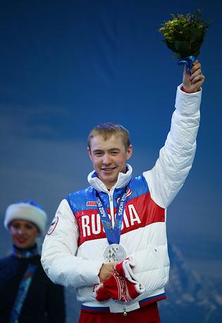 Лыжник Рушан Миннегулов обладатель двух золотых наград в лыжных гонках (в открытой эстафете и дистанции 20 км)