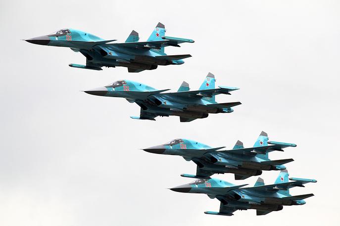 Самолеты Су-34