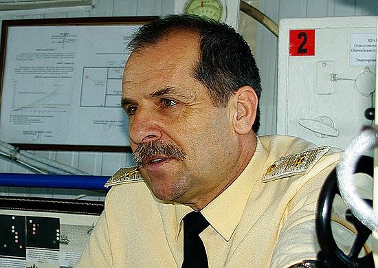 Заместитель командующего Черноморским флотом Валерий Куликов. Санкции введены Евросоюзом