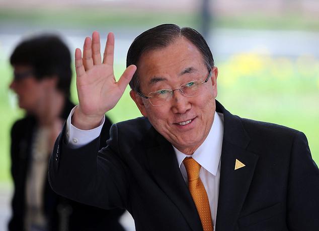 Генеральный секретарь ООН Пан Ги Мун