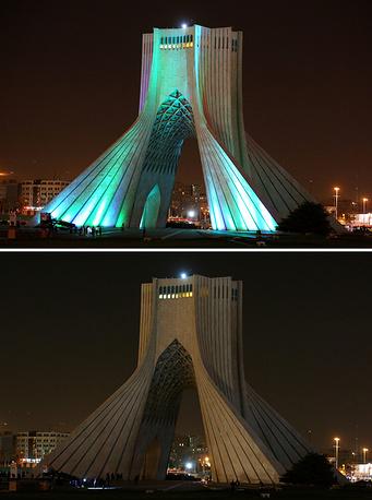 Иран, Тегеран, башня Азади (Свободы)