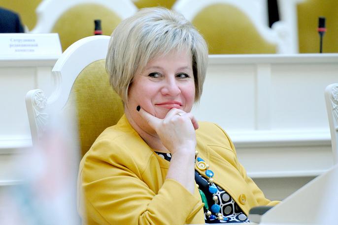 Депутат Законодательного собрания Санкт-Петербурга Марина Шишкина