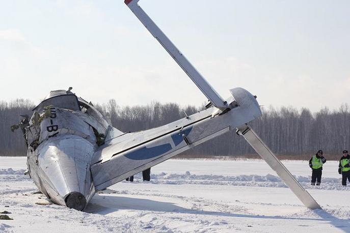 На месте крушения самолета ATR-72