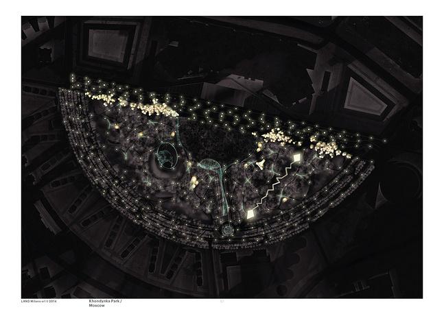 Главной идеей парка является сочетание искусства и природных форм: открытый театр, музыкальная башня, музыкальный бульвар