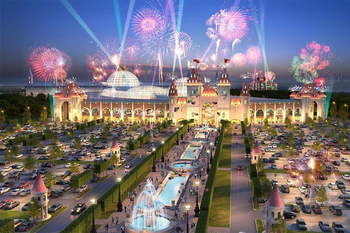 В парке будет многозальный кинотеатр, концертный зал вместимостью 5 тыс. человек, детская яхтенная школа, гостиница, ледовый каток, ресторанный дворик и детские кафе, детские магазины, парковка на 4,5 тыс. машиномест