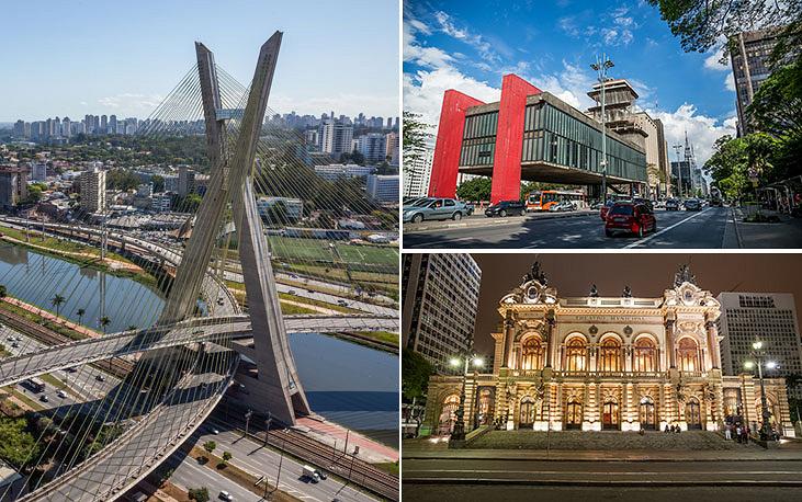 Город Сан-Паулу, основанный в 1554 году, является крупнейшим в Бразилии и Южном полушарии. Его население - 11,3 млн человек. Помимо исторических достопримечательностей, развитой инфраструктуры, пробок и небоскребов Сан-Паулу известен значительным количеством вертолетов.  В городе летают около 400 вертолетов, осуществляя около 70 тыс. полетов в год, для их обслуживания создано более 100 площадок