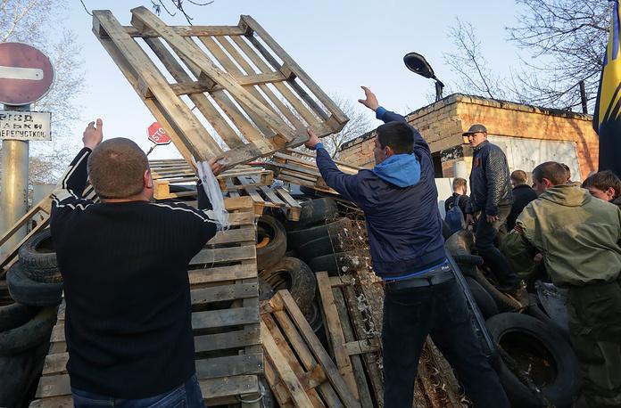 Силы самообороны в Краматорске